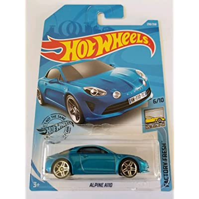 Hot Wheels 2020 Factory Fresh Alpine A110 238/250, Blue: Toys & Games