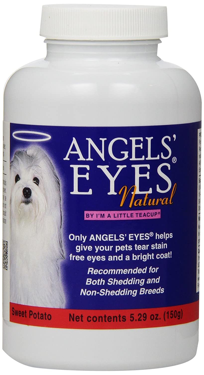 Angels' Eyes Natural Tear Stain Elimination and Remover Sweet Potato Flavor 225 Gram