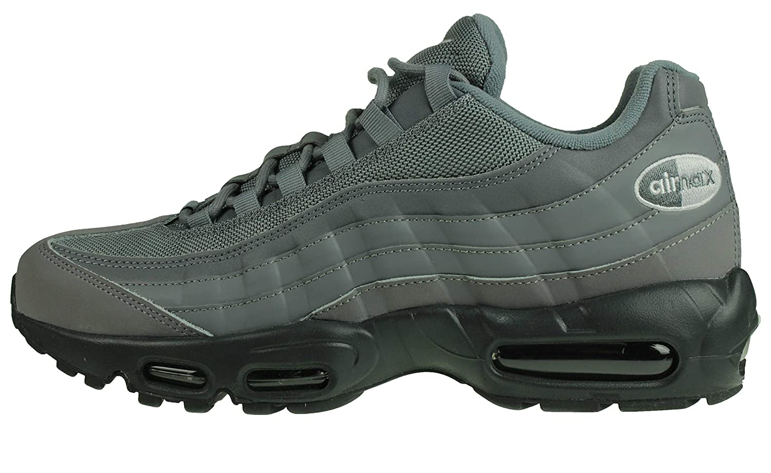MultiCouleure (Cool gris Cool gris Anthracite blanc 001) 42.5 EU Nike Air Max 95, Chaussures de Fitness Homme