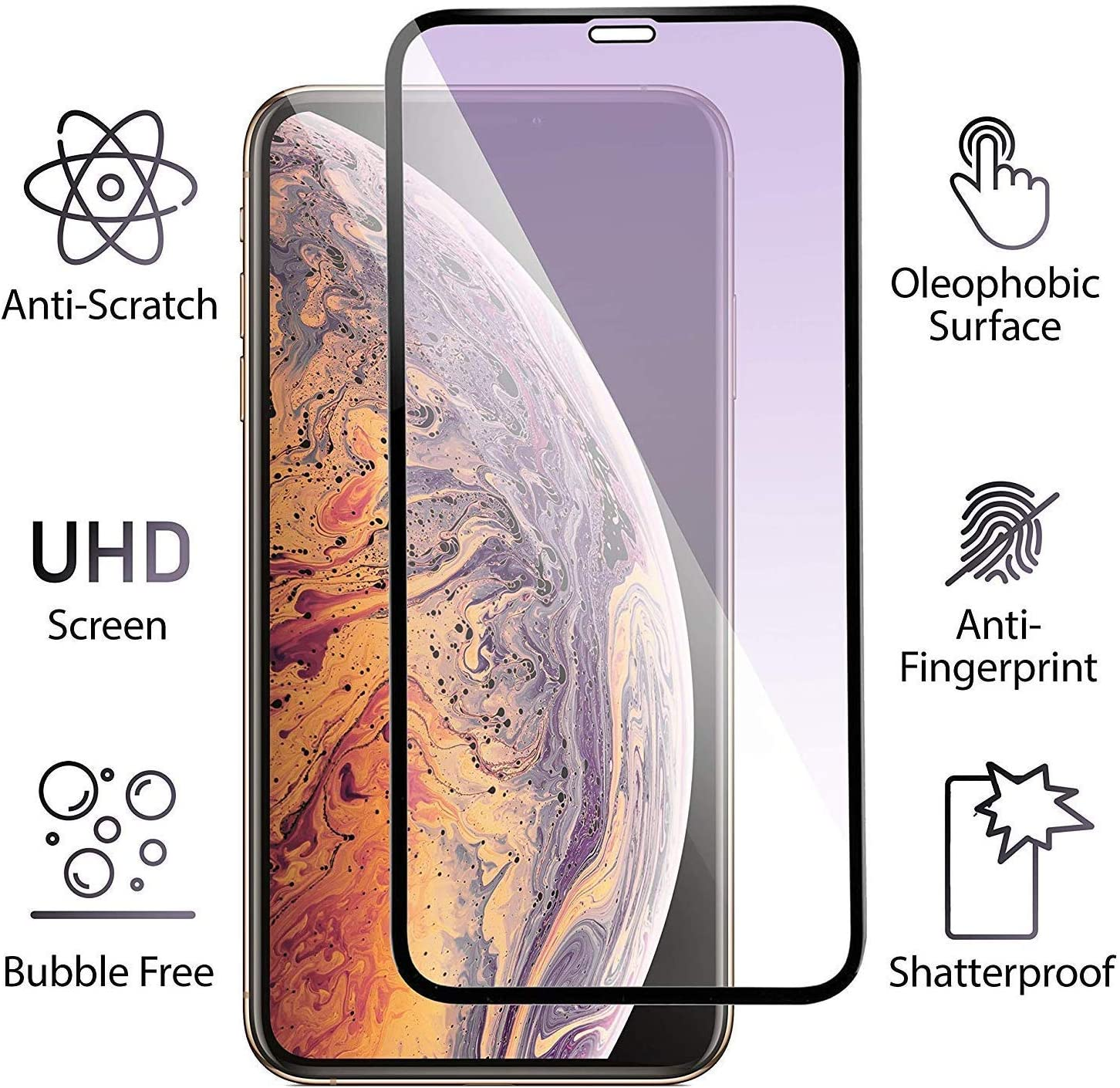 LS676 0.26mm 9H Surface Hardness Explosion-Proof Tempered Glass Screen Film ZYS Screen Protector 100 PCS for LG Tribute HD