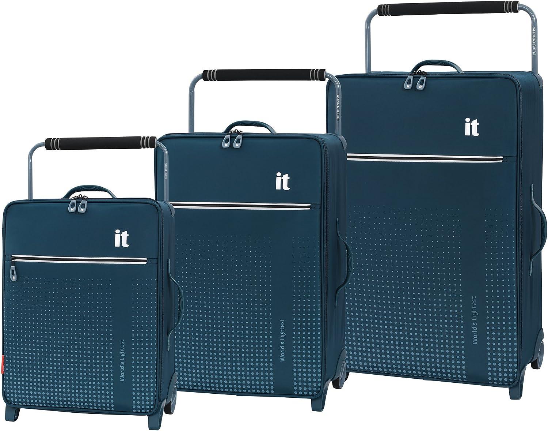 IT Luggage World s Lightest Vitalize 2 Wheel 3 Piece Set – 3 Piece Set