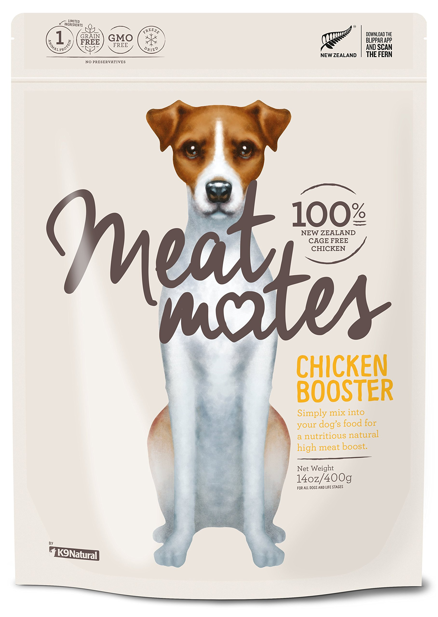 Meat Mates Freeze Dried Booster Chicken 14oz