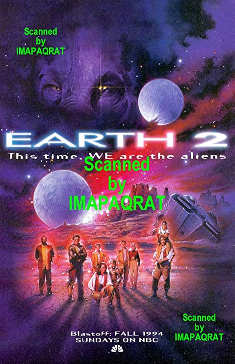 Amazon.com: Earth 2: This Time, WE are the Aliens: NBC TV Series Premier:  Great Original 1994 Print Ad: Posters & Prints