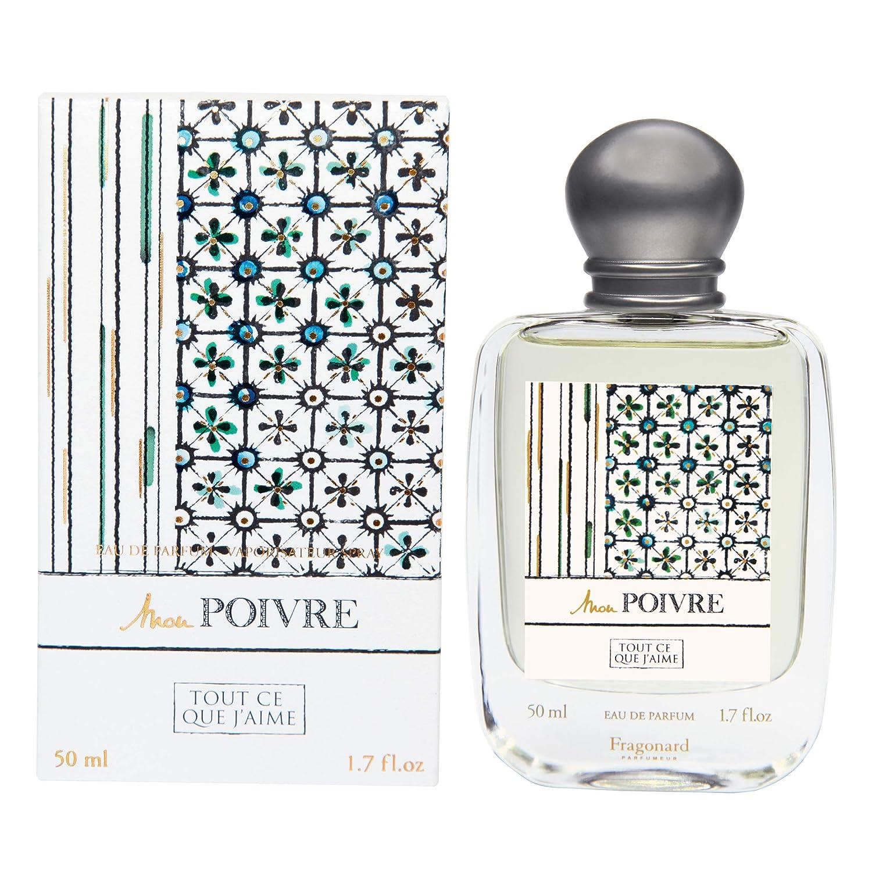 Amazoncom Fragonard Parfumeur Mon Poivre Eau De Parfum 50 Ml