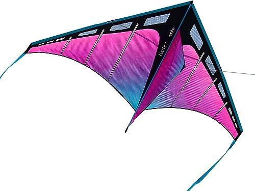 Prism Kite Technology Zenith 7 Aurora Single Line Kite, Ready to Fly with line