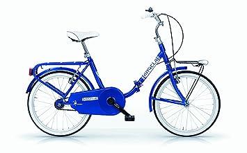 "Bicicleta Mujer modelo Graziella"" MBM Angela 24 Pulgadas Marco de Acero Plegable 47 cm Frenos"
