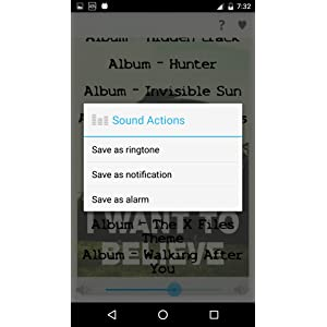 x files ringtone for android