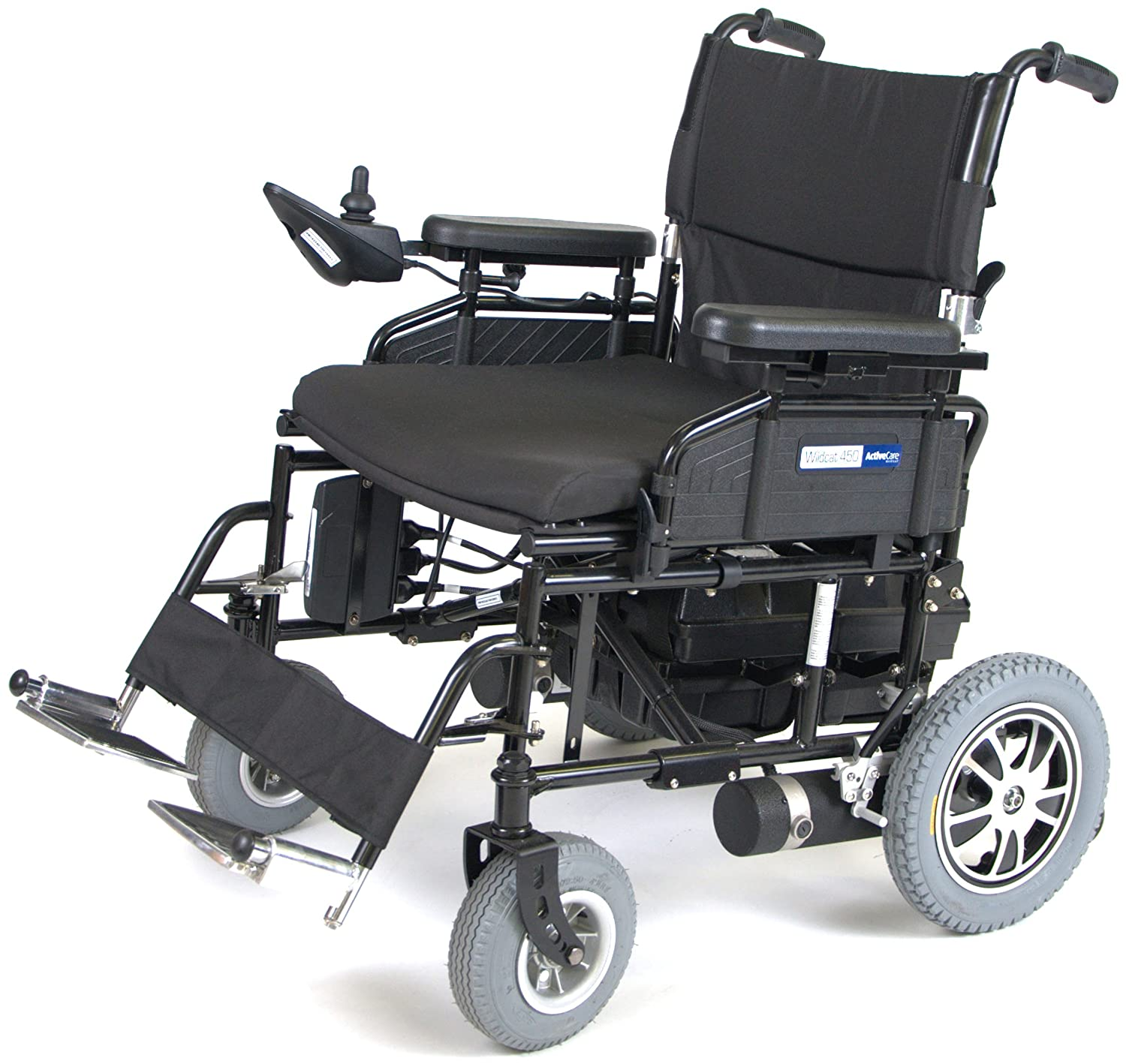 Amazon Wildcat 450 Heavy Duty Folding Power Wheelchair