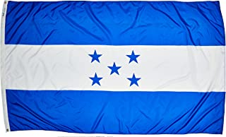 product image for Annin Flagmakers Model 193435 Honduras Flag Nylon SolarGuard NYL-Glo, 5x8 ft, 100% Made in USA to Official United Nations Design Specifications