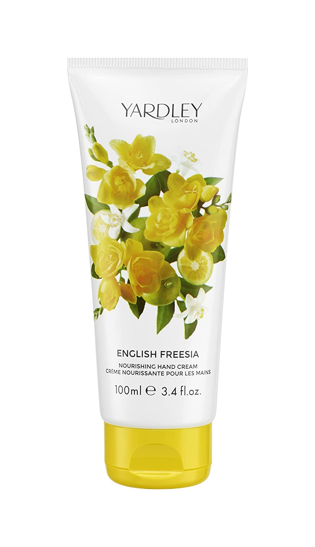 Yardley Londres Inglés Freesia crema de manos, 100 ml ...