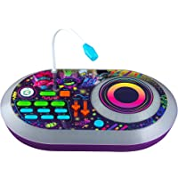 eKids Trolls World Tour DJ Trollex Party Mixer Turntable Toy for Kids Toddler Children, Built in Microphone, Record…