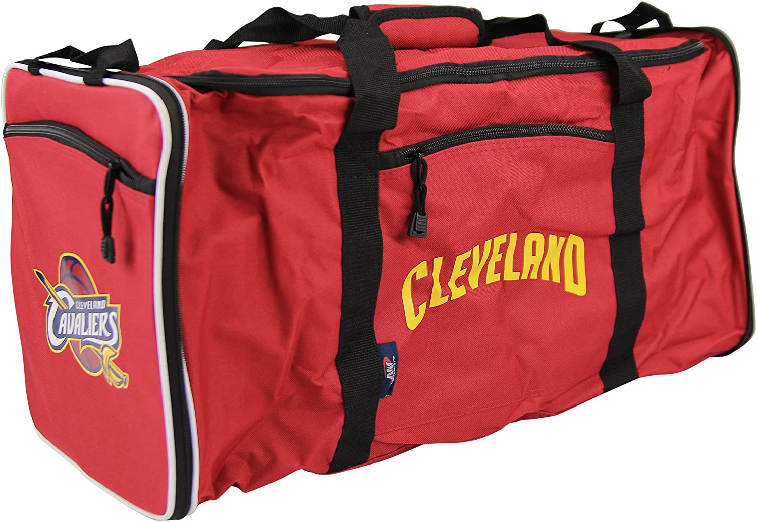 The Northwest Company NBA Team Logo Extended Duffle Bag Cleveland Cavaliers
