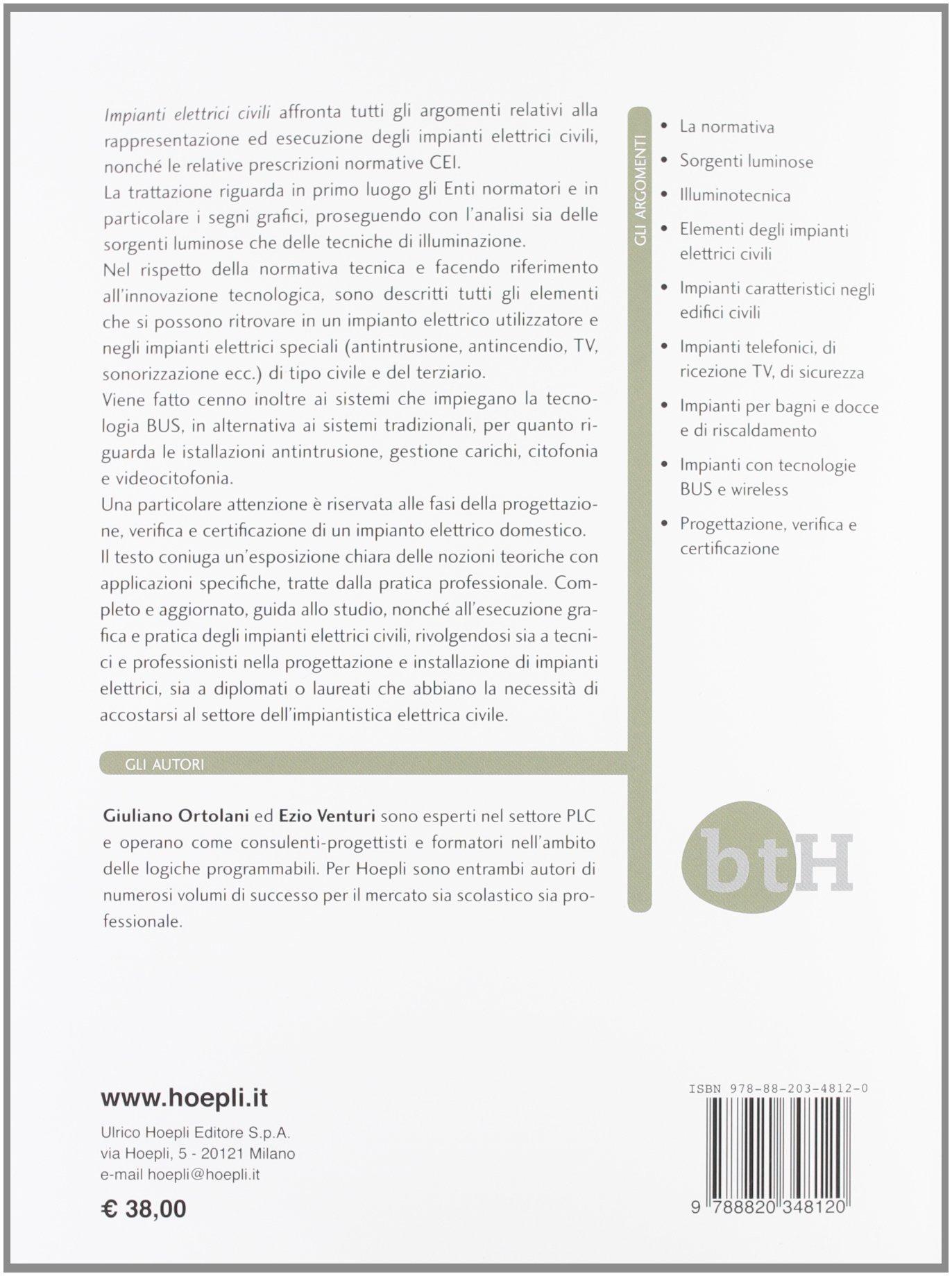 Schemi Elettrici Civili : Impianti elettrici civili schemi e apparecchi nei locali