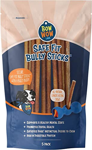 Bow Wow Labs 6 Bully Sticks – 10 Pack