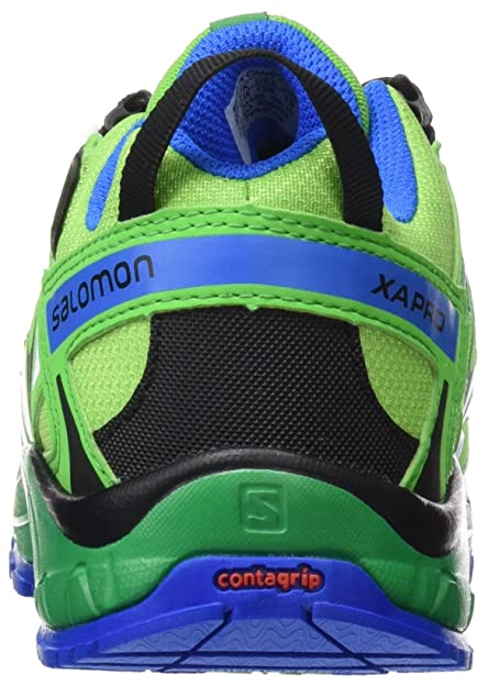 Salomon Junior XA Pro 3D CSWP J - Boy's Trail Running Shoes - 390434