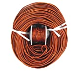 Glory Qin Distressed Brown Color Soft Round Genuine Jewelry Leather Cord Leather Rope