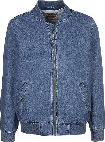 Levis Hombre Lyon Bomber Jacket, Azul, Small: Amazon.es ...
