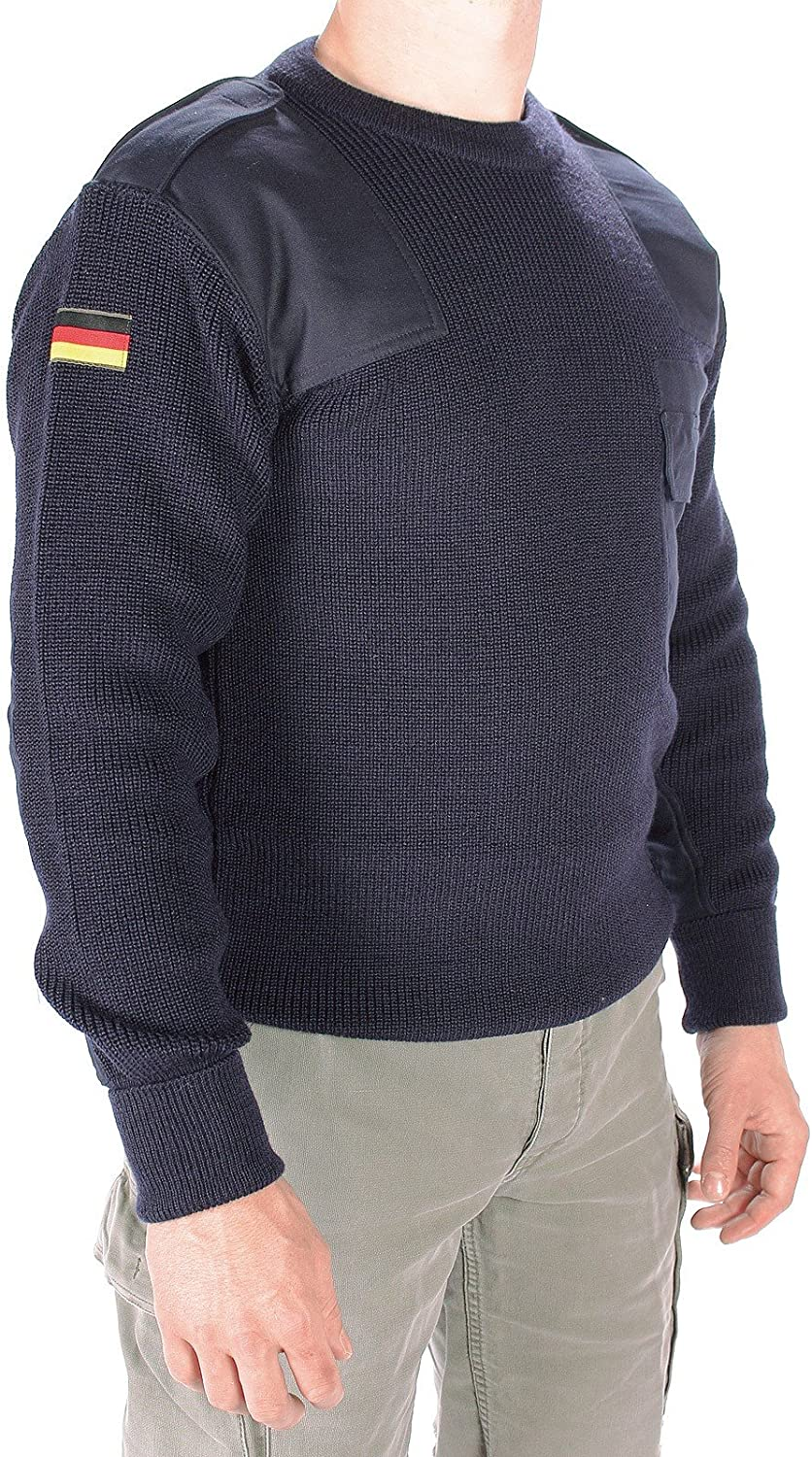 Black Miltec German Army Style Jumper