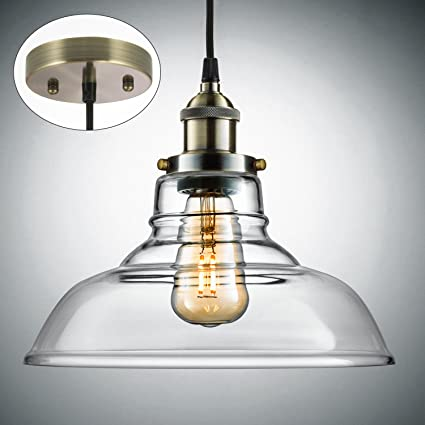 Salking industrial hanging lamp vintage edison glass pendant light salking industrial hanging lamp vintage edison glass pendant light adjustable hanging heightfabric mozeypictures Gallery