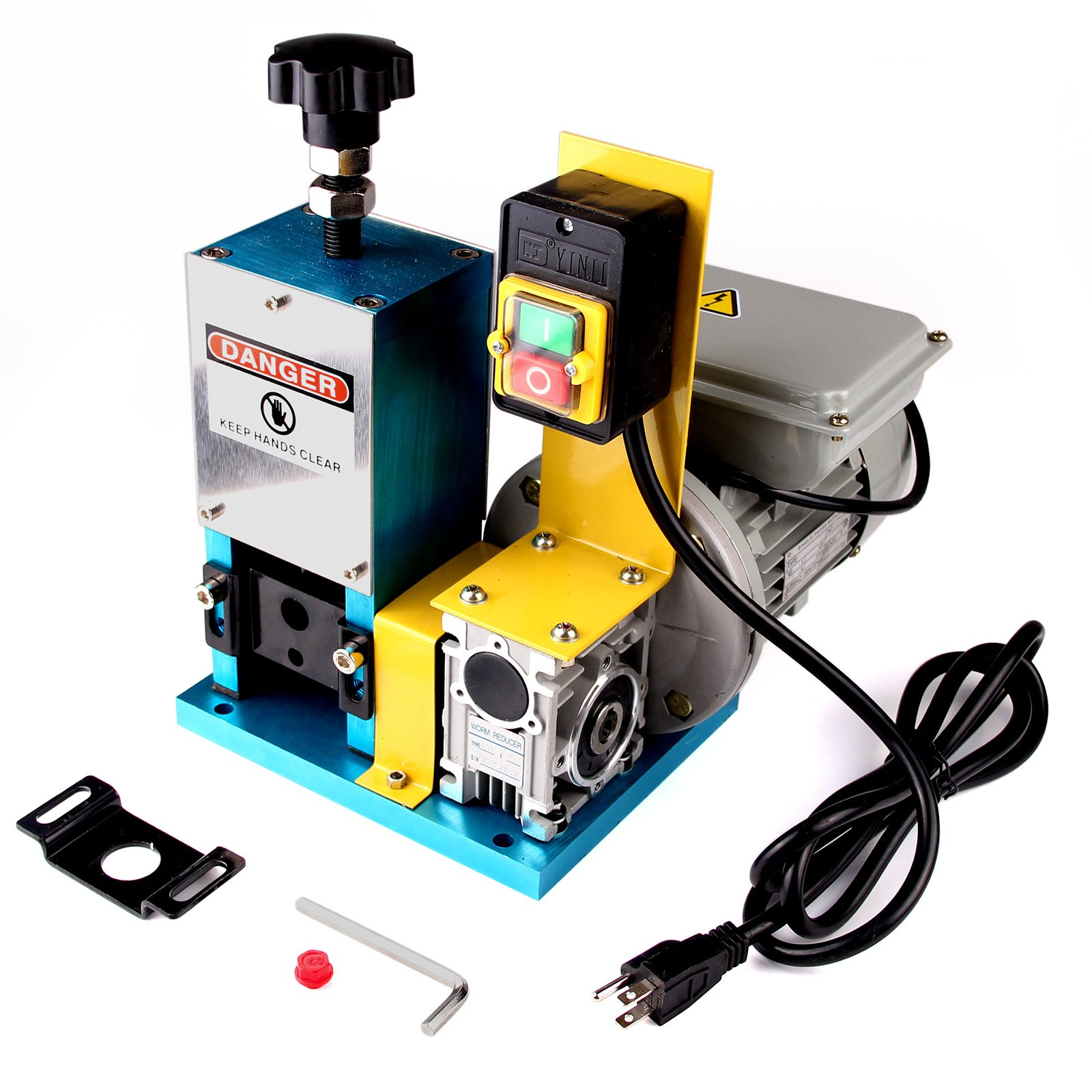 PENSON & CO. Automatic Motorized Electric Wire Stripping Machine for Scrap Copper Wire Cable Stripping Blades