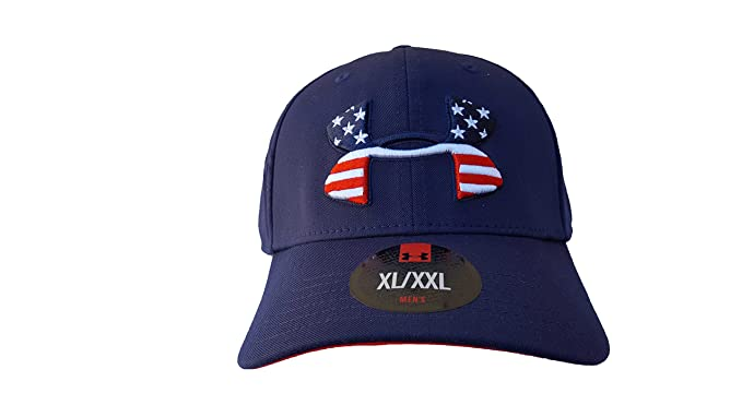 under armour baseball cap black on men country series flag navy caps