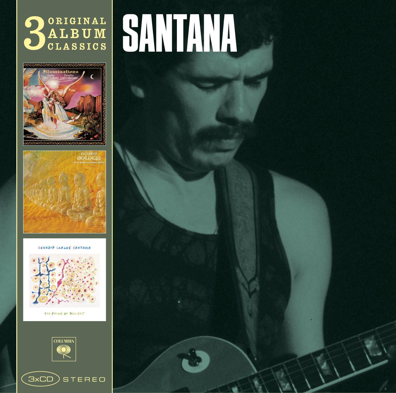 Santana - 3cd Original Album Classics (Illumin Ations/Oneness ...