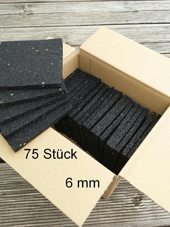 Terrasses Pad en 4/Renforcer Tapis en caoutchouc caoutchouc granulatpad 100/x 100/mm