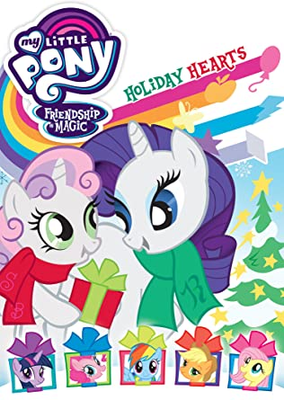 amazon com my little pony friendship is magic holiday hearts