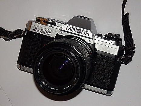 Minolta X de 300 SLR Camera - Cámara réflex analógica - Incluye ...