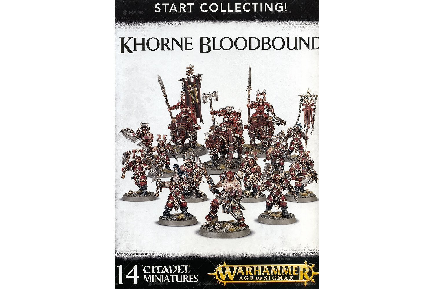 Games Workshop 99120201061 Khorne Blood Bound Start Collecting Action Figure
