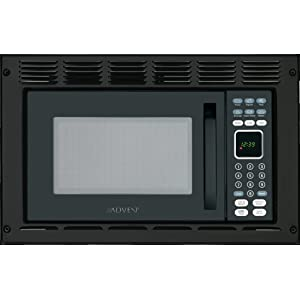Amazon.com: Advent MW912BWDK Black Built-in Microwave Oven
