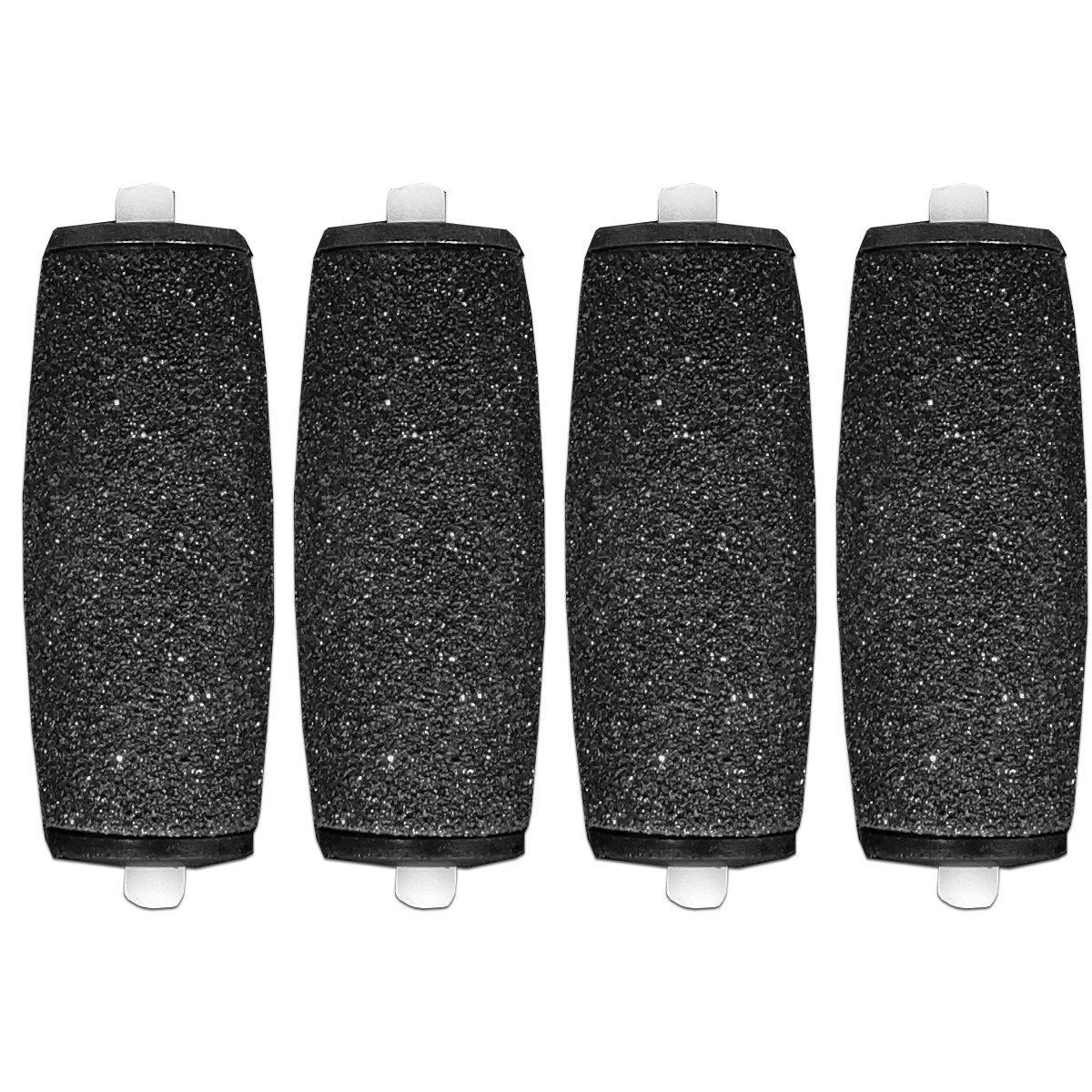 4 x Compatibile Scholl Velluto Liscio Express Diamante Pedi Di ricambio Bigodini