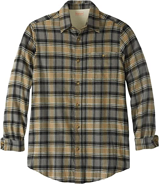 Mens KINGSIZE Brand Flannel Shirts  3x Tall  4 colors to choose from NEW!!