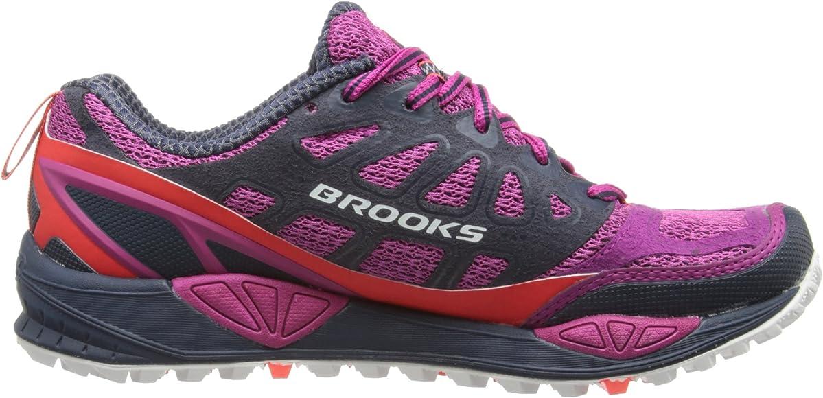 BROOKS Cascadia 9 Zapatilla de Trail Running Señora, Púrpura/Rosa ...