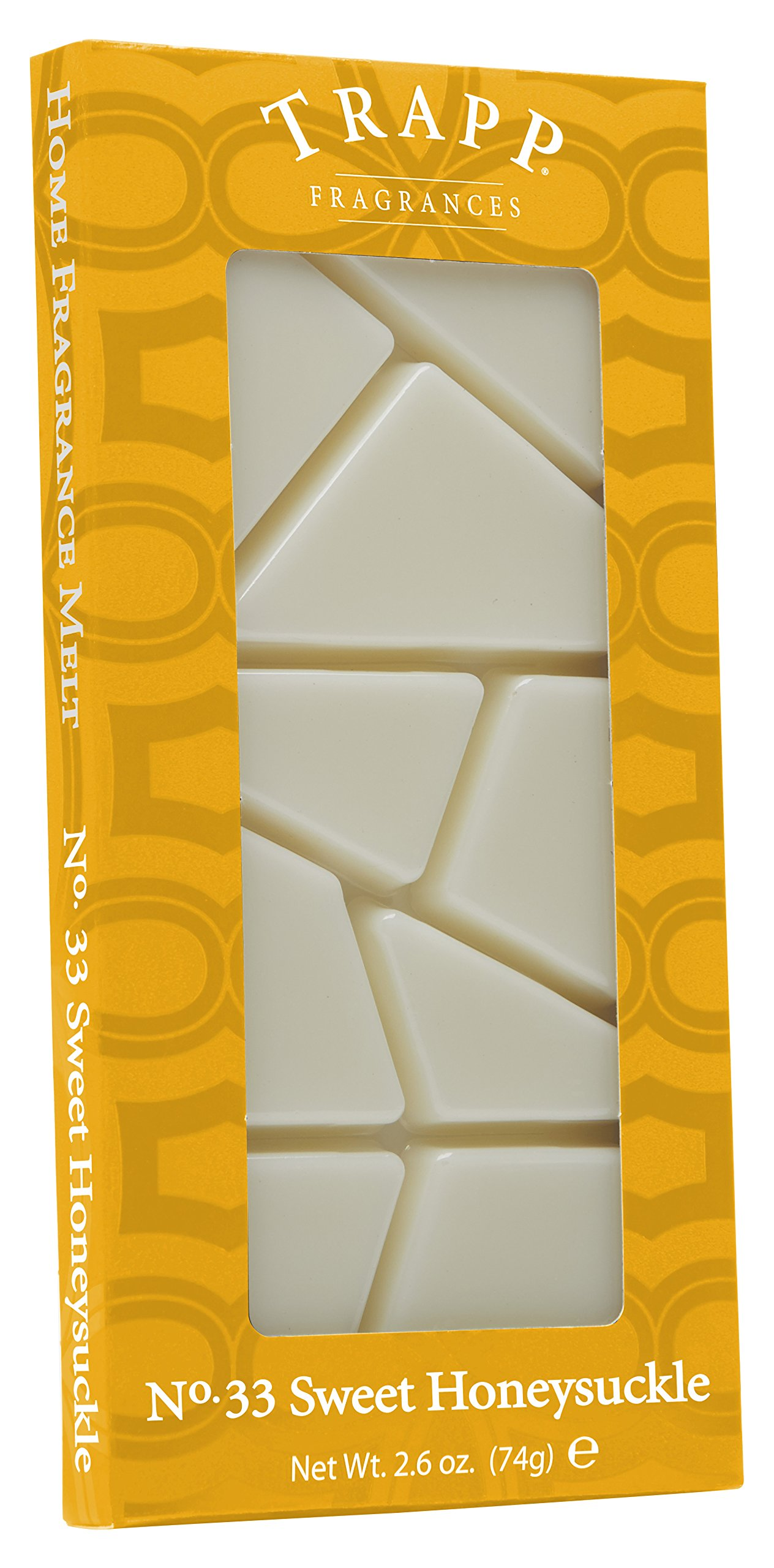 Trapp Home Fragrance Melt, No. 33 Sweet Honeysuckle, 2.6-Ounce