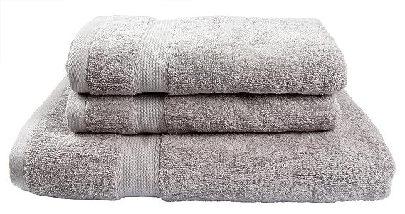 Winthome set asciugamani da bagno di lusso & # xff0 c; morbida