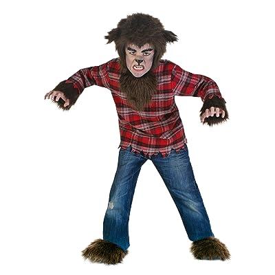 Werewolf Costume Kids Fierce Werewolf Costume for Children: Clothing