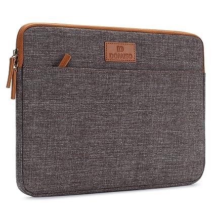 Wählen Sie für authentisch großer Rabatt hell im Glanz DOMISO 14 Zoll Laptophülle Hülle Sleeve Case Etui Notebook Schutzhülle  Canvas-Gewebe Tasche für 14