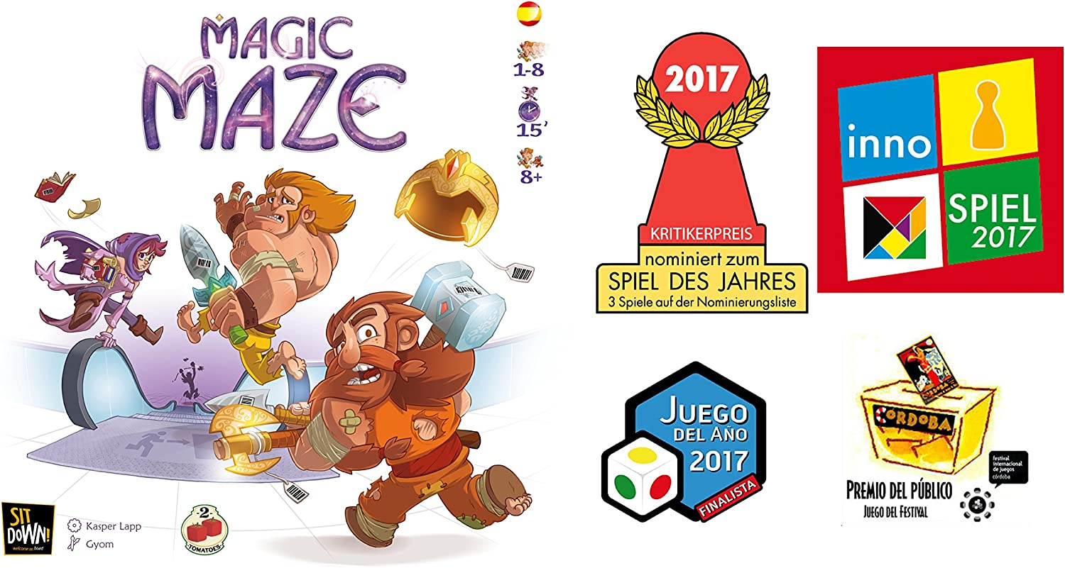 Tomatoes Games Magic Maze, Multicolor (8437016497128-0): Amazon.es: Juguetes y juegos