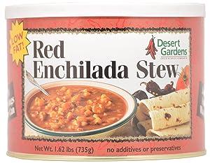 Desert Gardens Red Enchilada Stew - 24 Serving Canister