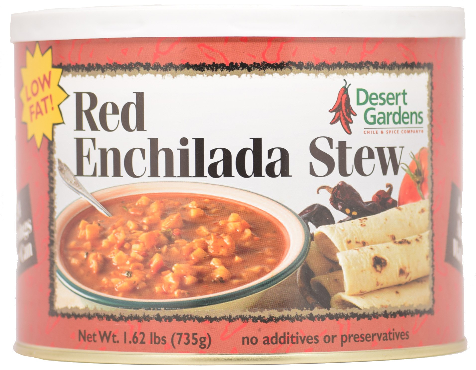 Desert Gardens Red Enchilada Stew - 24 Serving Canister