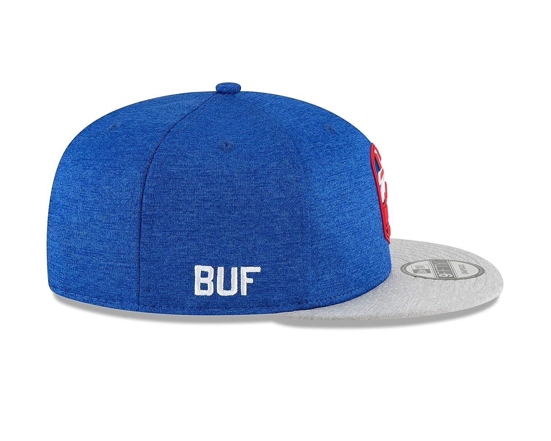 Amazon.com   New Era Buffalo Bills 2018 NFL Sideline Road Official 9FIFTY Snapback  Hat   Sports   Outdoors f2089b28a