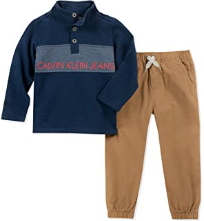 1042eb495f1b Amazon.com  Timberland Boys  2 Pieces Hoody Jogger Set  Clothing