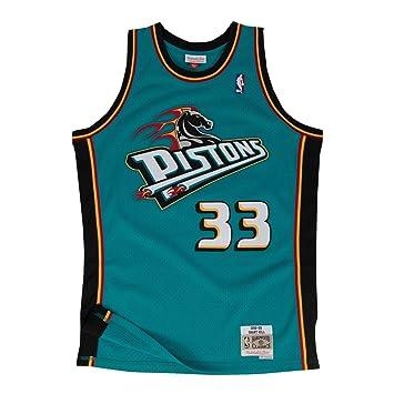 new products 2d7b7 a7d2c Amazon.com : Mitchell & Ness Grant Hill Detroit Pistons NBA ...