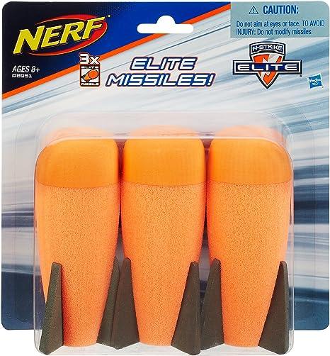 Hasbro Nerf N-Strike Elite XD Missile Nachfüllpack: Amazon.es: Juguetes y juegos
