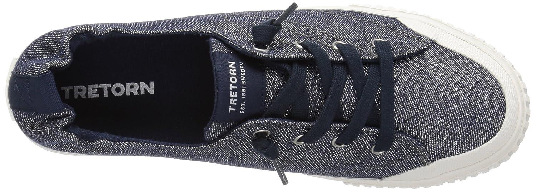Tretorn Women's MEG4 Sneaker B074QNWH93 5.5 B(M) US|Marino
