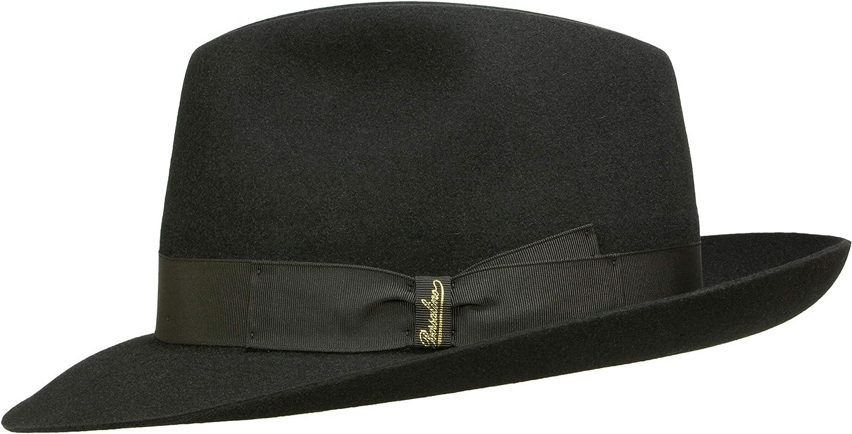 Sombrero Fedora para hombre 490002 negro Borsalino Art