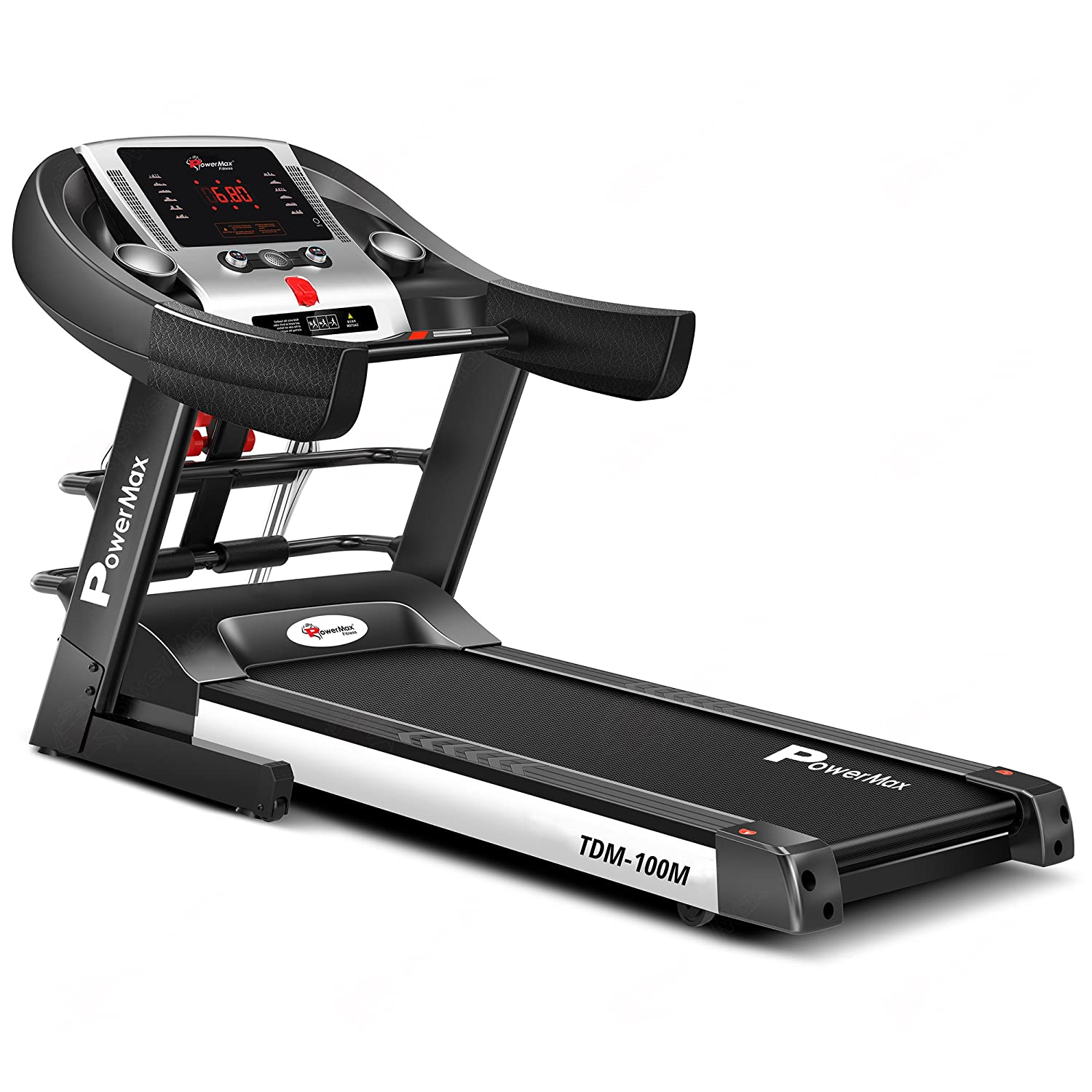 PowerMax Fitness® TDM-100M (2.0HP) Motorized Foldable review