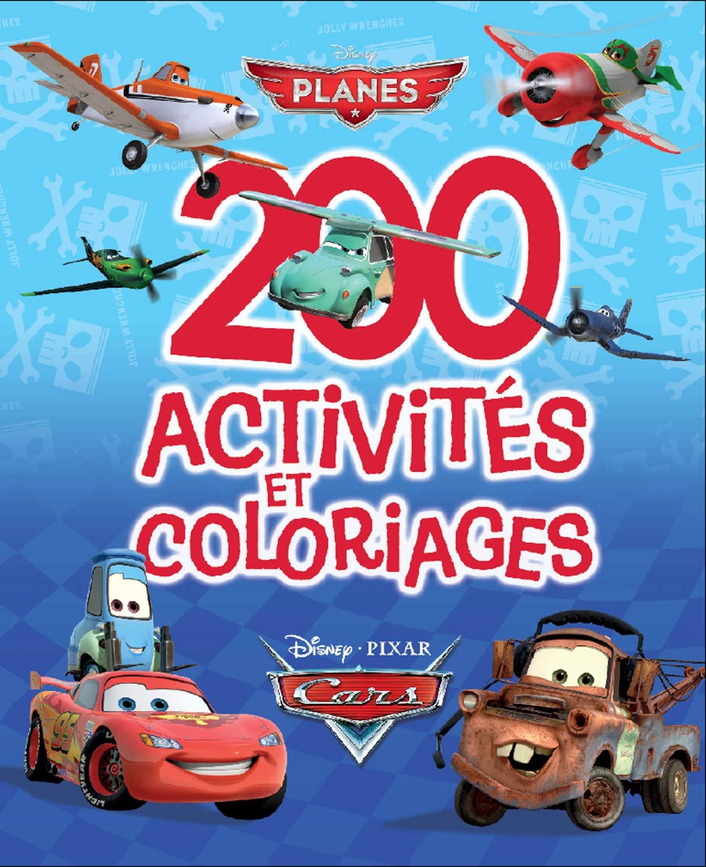 Le Monde de Cars & Planes, 32 ACTIVITES ET COLORIAGES 32 ...