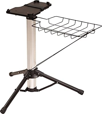 Steam Press Stand, 24-Inch High, Black
